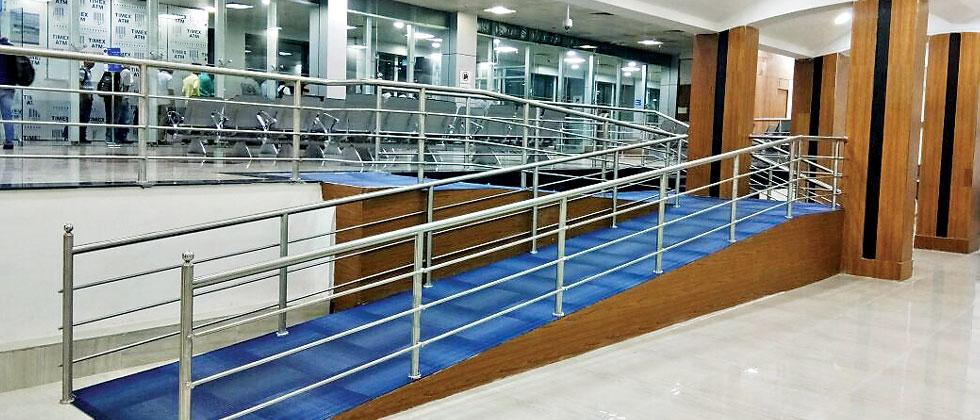 The seating capacity at Pune airport has been increased by redeveloping the 475 sq mt security hold 2 area.