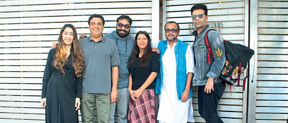 Ronnie Screwvala, Ashi Dua, Zoya Akhtar, Karan Johar, Anurag Kashyap and Dibakar Banerjee