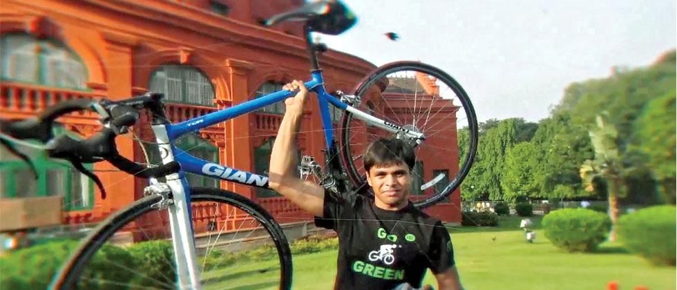 Srinivas Gokulnath is now preparing for the upcoming Tour of Austria, one of the toughest annual road bike racing competition