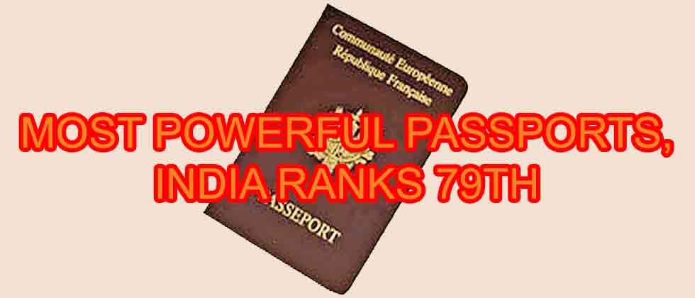 Japan tops list of most powerful passports, India ranks 79th