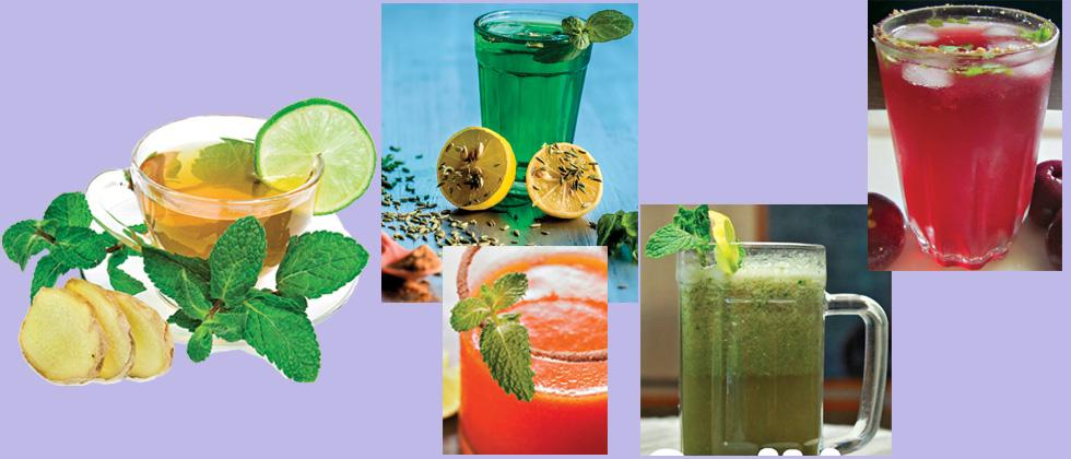 Drink your way to good health