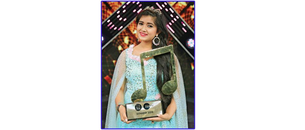 Ishita Vishwakarma crowned as the winner of 'Sa Re Ga Ma Pa'