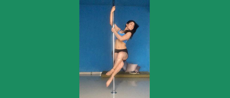 Yami's new fitness obsession is pole dancing