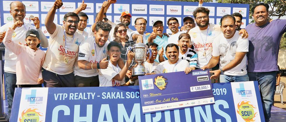 Suvan Cresta Bibvewadi wins SCL title