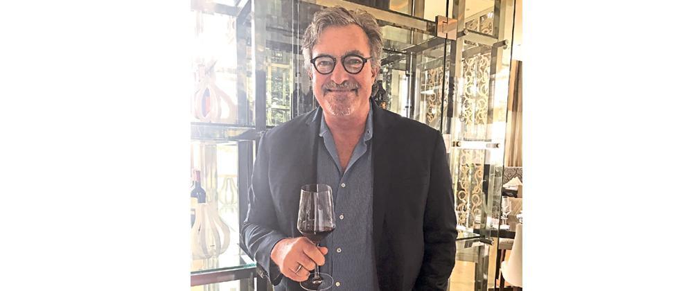 Kerry Damskey, Sula's master winemaker