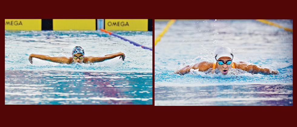 Apeksha, Kenisha give Maha flourish in pool