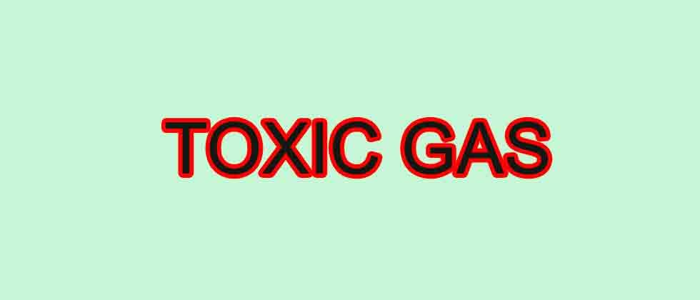 Woman accidentally inhales toxic gas, hospitalised