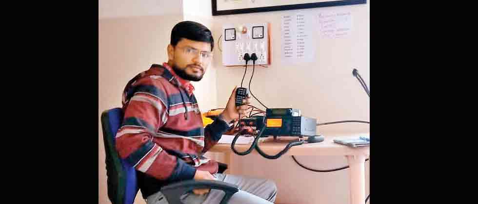 Pawar Public School first to set up Ham Radio Club