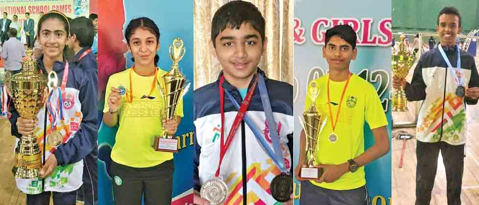 NKBA trainees shine for Maha team at School Nationals