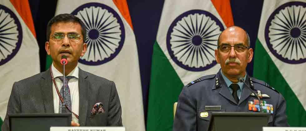 Pakistan Air Force targeted India's military installations