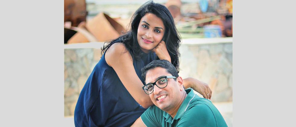 Trishla and Rajeev Surana