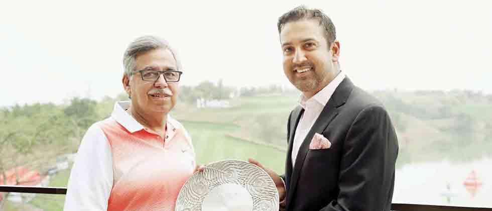 Asian Tour felicitates Pawan Munjal for his contribution to golf in Asia