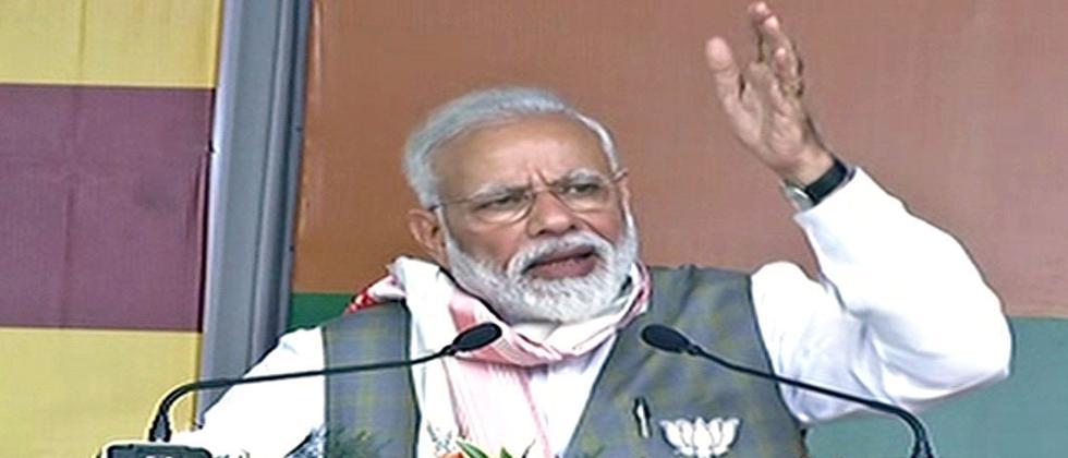 LokSabha 2019: NDA govt committed to Assam Accord: Modi