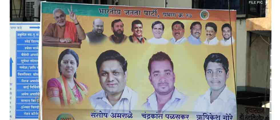 BJP leaders ask partymen to stop using their photos on banners