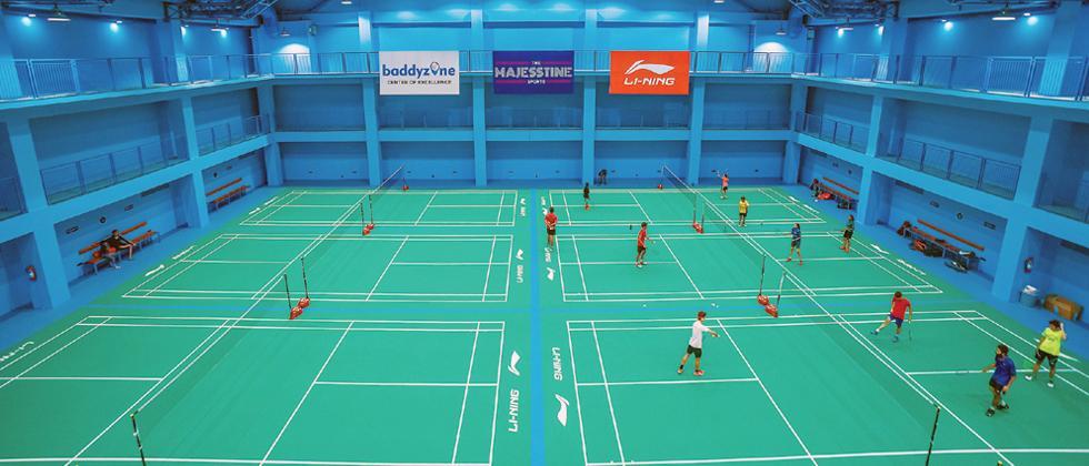 Eight new world class badminton courts opened in Bengaluru