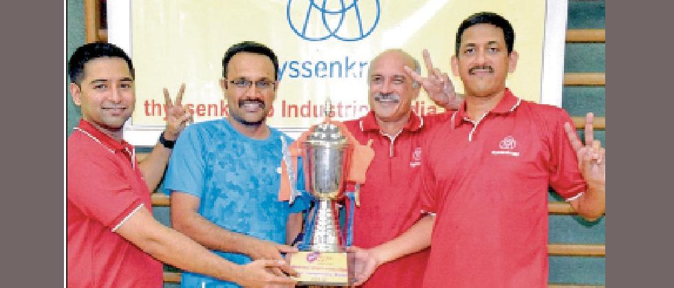 Thyssenkrupp emerges overall champion