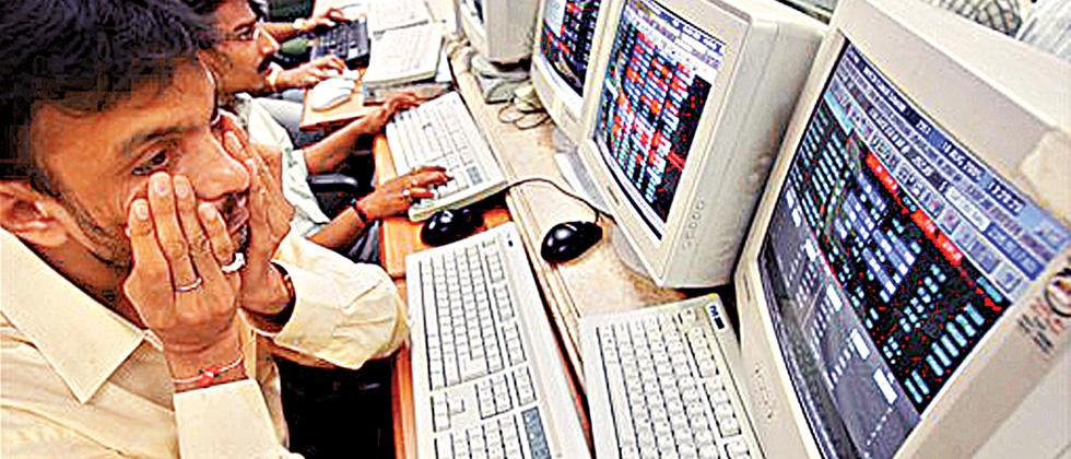 Market losses narrow, GST anxiety keeps investors on toes