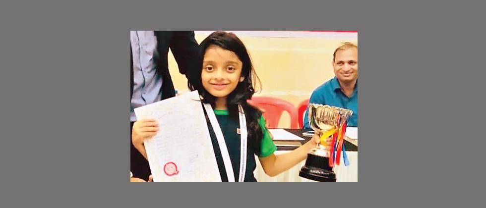 Anaishaa Nahar wins MSSA U-8 chess title