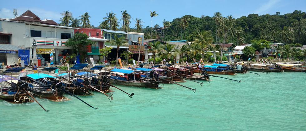 Dock at Phi Phi Islands