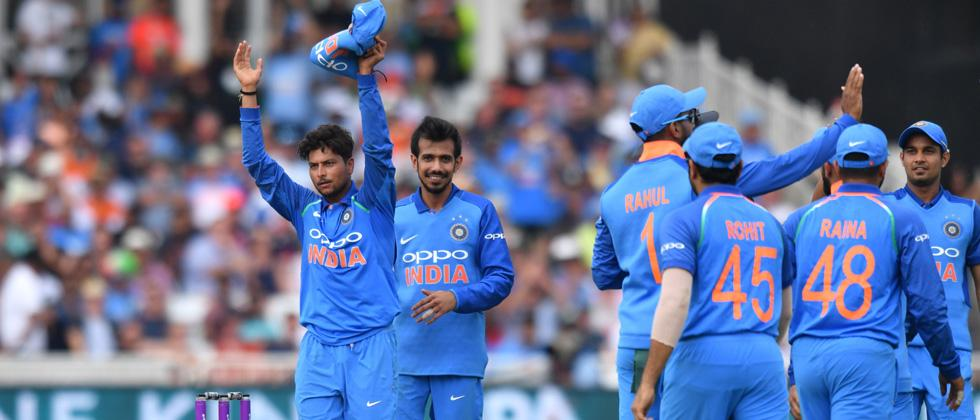 Kuldeep's magic, Rohit's grace take India to emphatic victory