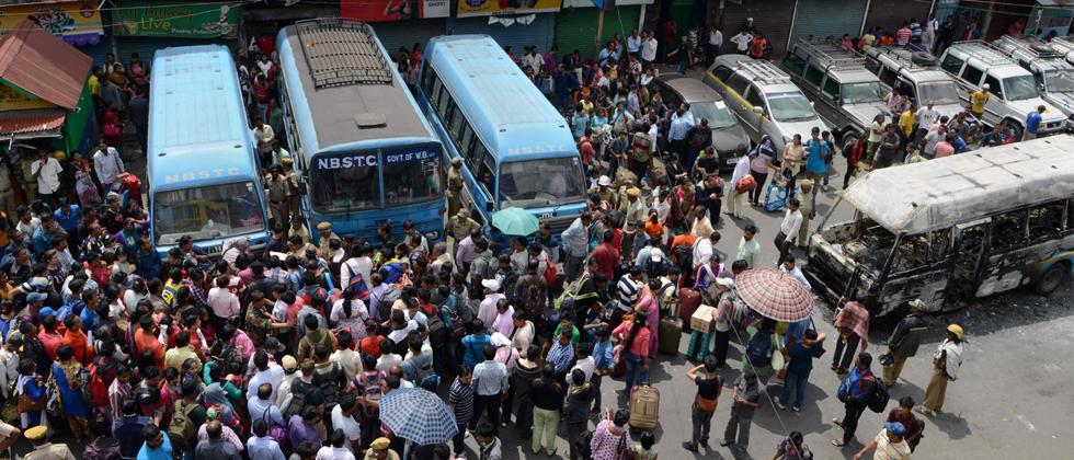 Darjeeling-Protest