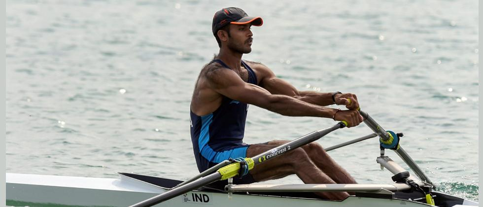 Dattu Bhokanal finishes sixth in men's single sculls final