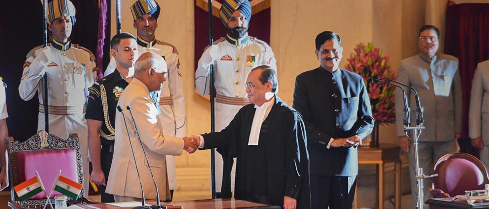 Justice Ranjan Gogoi sworn in as Chief Justice of India