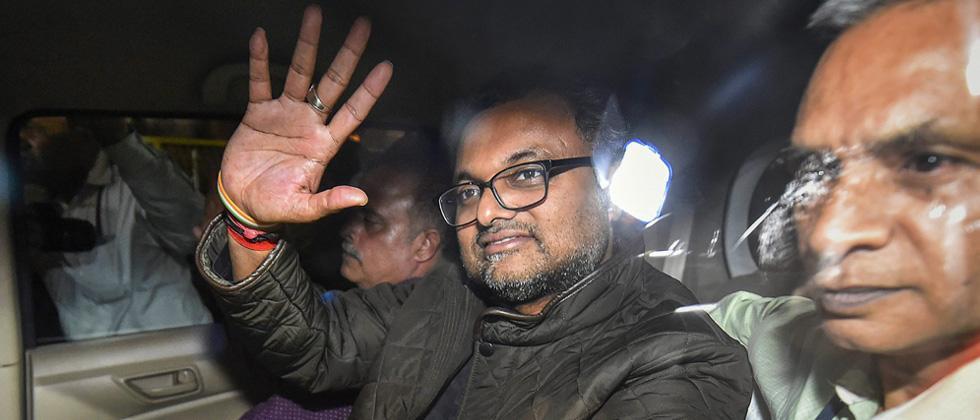 Karti produced in court, CBI seeks 9 day custodial interrogation