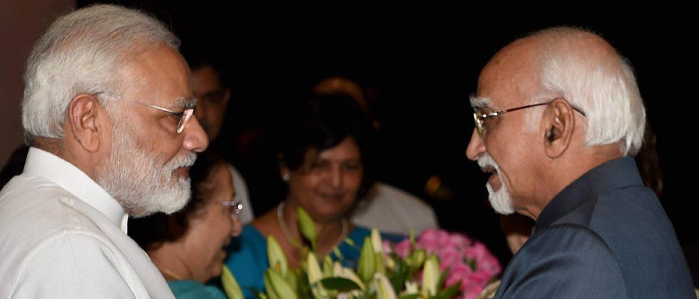Members laud Hamid Ansari's role as Rajya Sabha Chairman