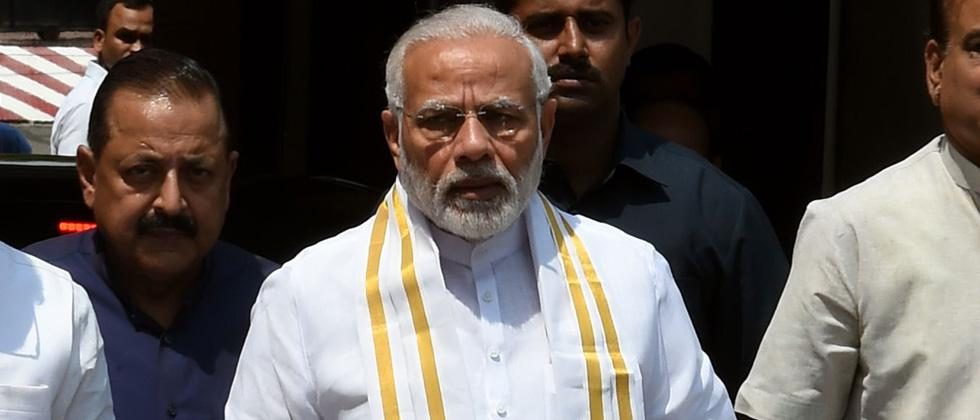 We walked the talk on electrification, says Modi