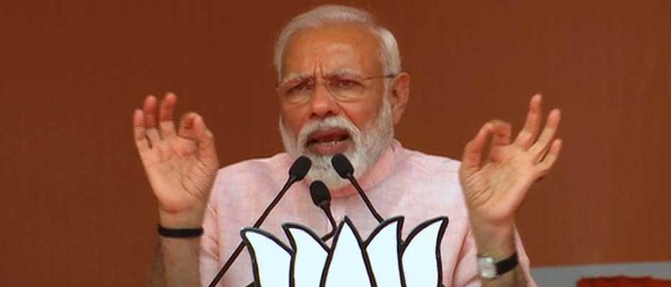 LokSabha 2019: PM attacks Cong over ED charge sheet in Agusta scam, Congress says cheap poll stunt, Michel claims no name mentioned