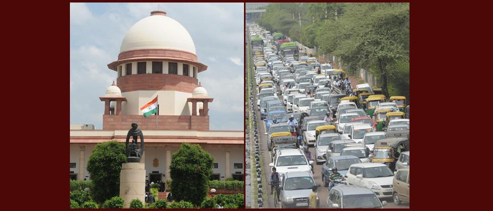 SC accepts Centre's suggestion to have coloured stickers on vehicles to indicate nature of fuel