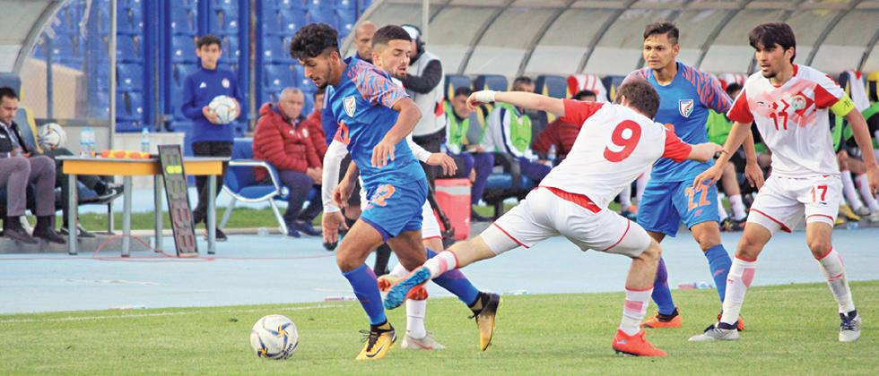 India lose 0-2 to bow out of AFC U-23 Championship qualifiers