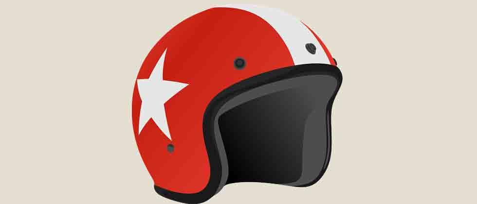 RTO makes sale of helmet must with two-wheelers
