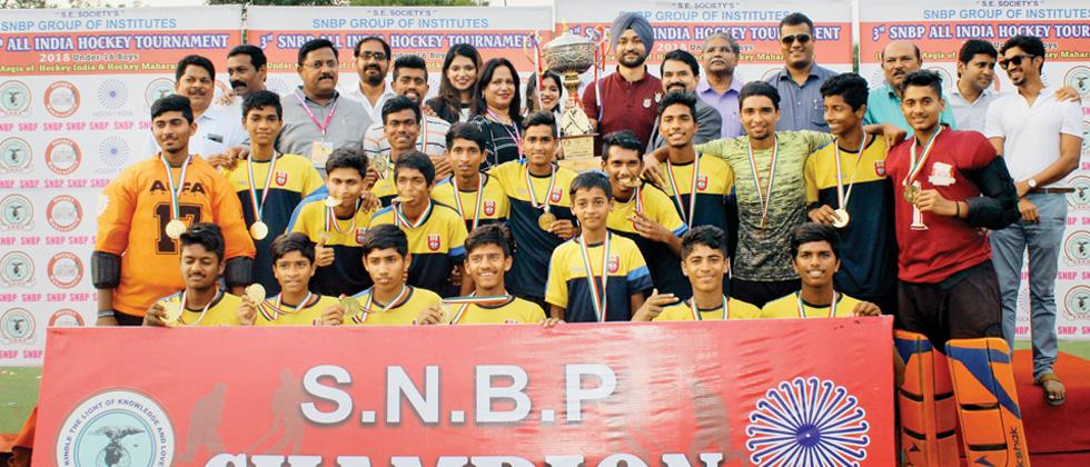 Krida Prabodhini are the champions