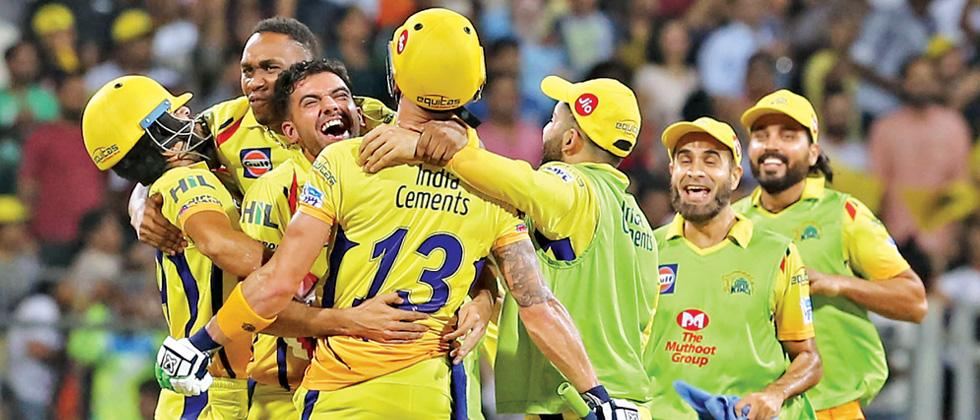 Fafulous: Du Plessis stands up for CSK
