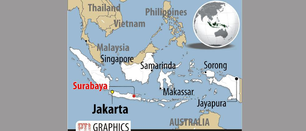 11 dead, 41 hurt as suicide bombers hit Indonesian churches