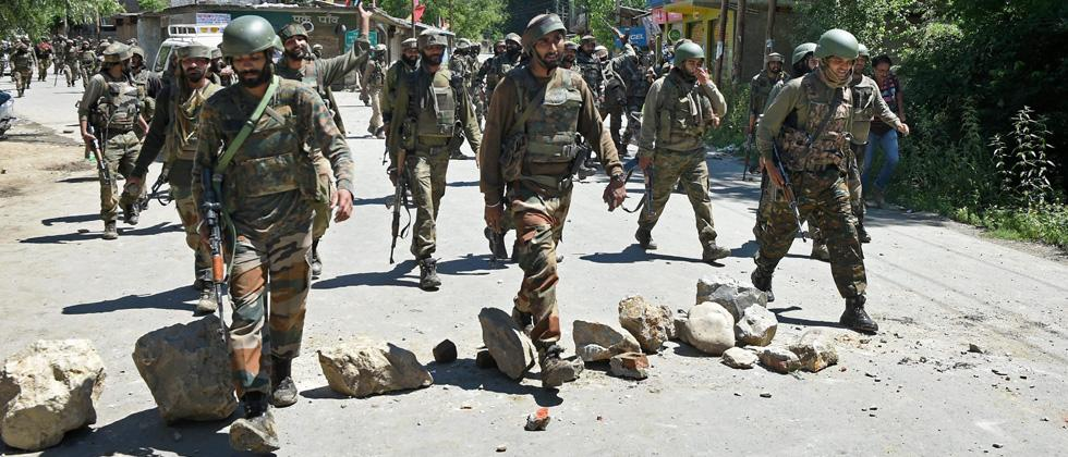 Militant killed in gunfight in J&K