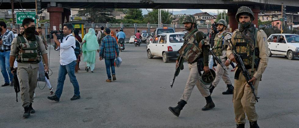 Restrictions imposed in Srinagar
