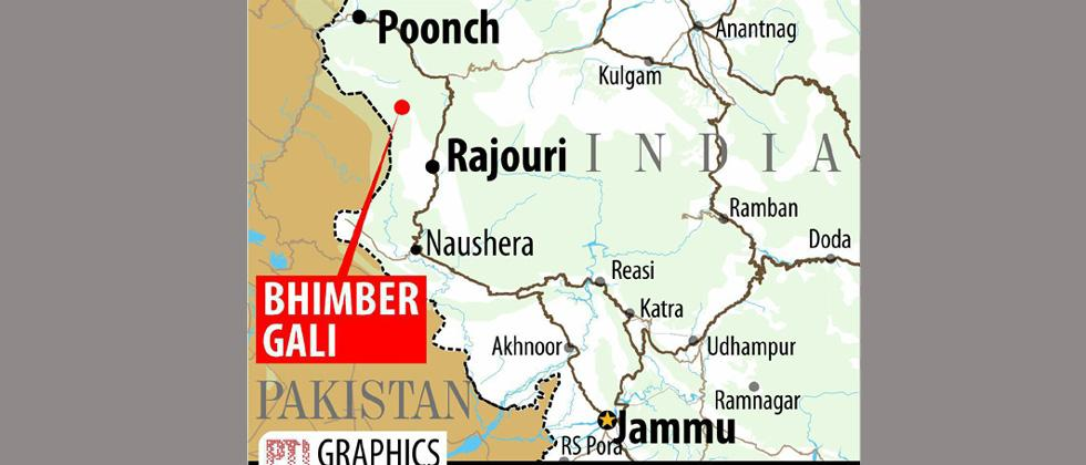 Two armymen, 1 civilian injured in Pak shelling along LoC
