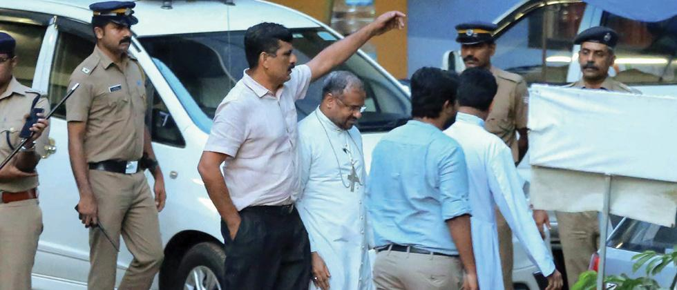 Nun's rape: SIT resumes quizzing bishop, Kerala police chief says call on arrest in day or two