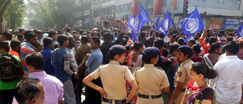 Koregaon Bhima Protest