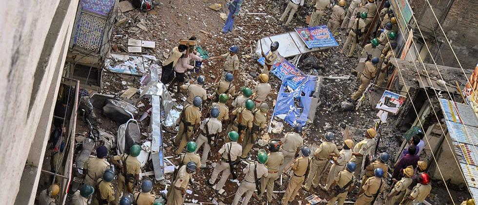 Aurangabad riots: Video shows cops walking with mob; probe ordered