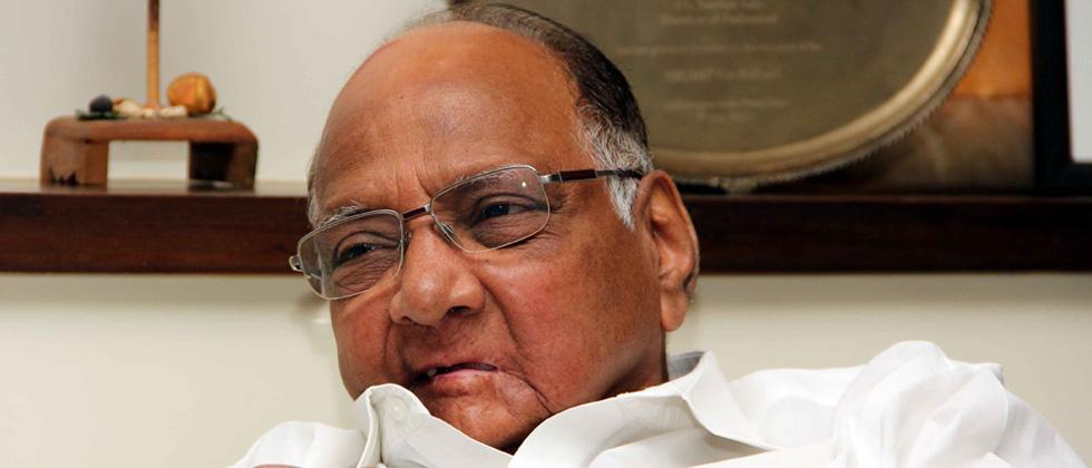 Pawar backs farmers' stir, hits out at government