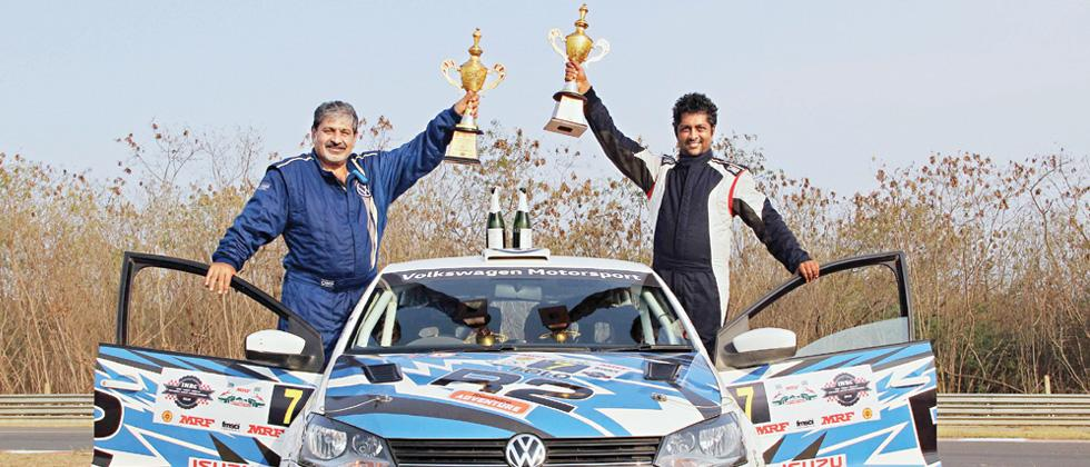 Vicky Chandhok takes podium in VW Polo R2