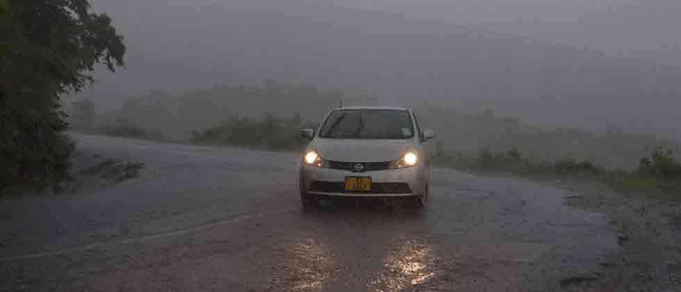 Cyclone Idai hits Mozambique
