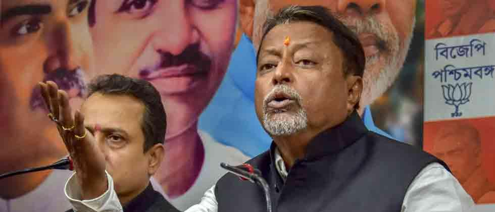 BJP's Mukul Roy, 3 others named in FIR for TMC MLA's killing
