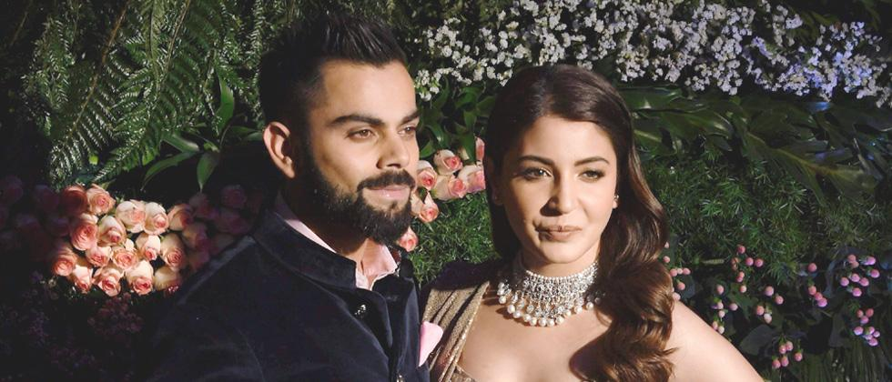 Virat & Anushka host Bollywood & sports A-listers at reception