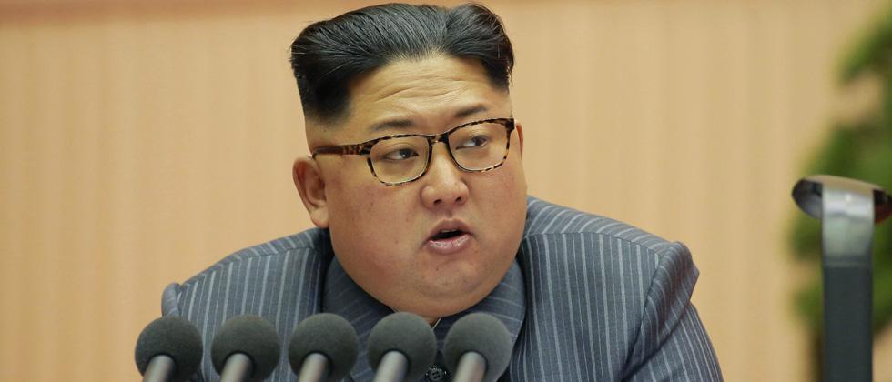 Nuclear button always on my desk, says Kim