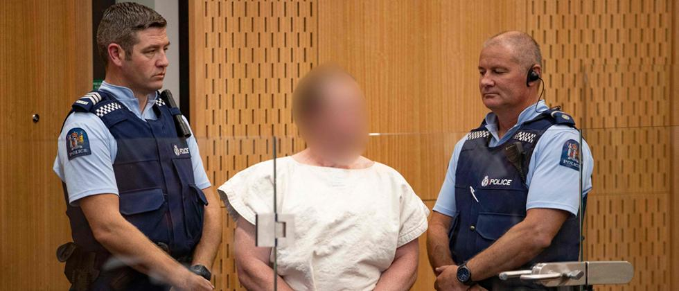 Defiant New Zealand mosque attack suspect charged with murder